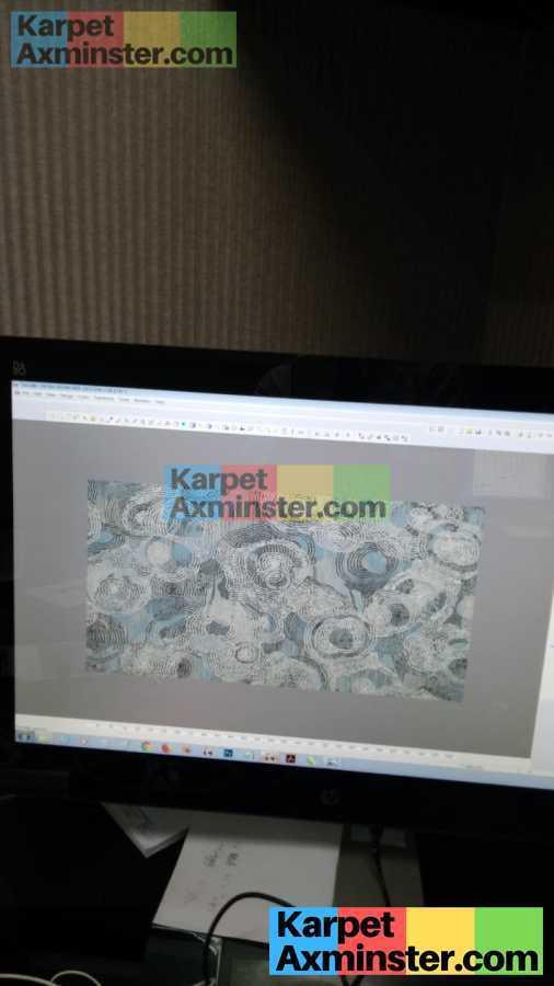 Hasil Proses Desain Karpet Axminster