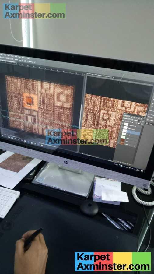 Proses Desain Karpet Axminster