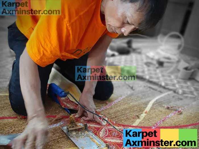 Pekerjaan Pemasangan Karpet Axminster Madiun Terbaik DPRD Kota