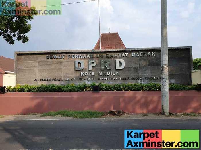 Project Karpet Axminster Gedung DPRD Madiun