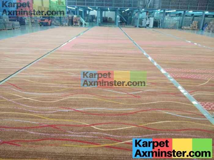 Proses Finishing Pabrik Karpet Axminster Madiun DPRD Kota