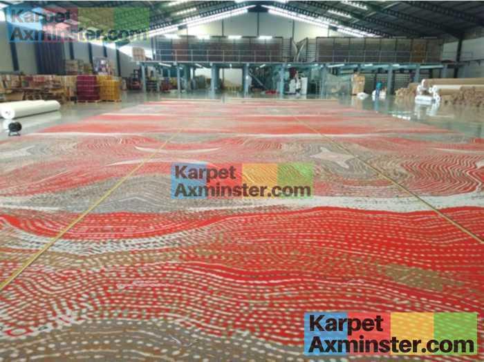 finishing pabrik karpet hotel yogyakarta grand inna