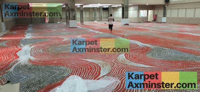 selesai pasang karpet axminster terbaik yogyakarta grand inna