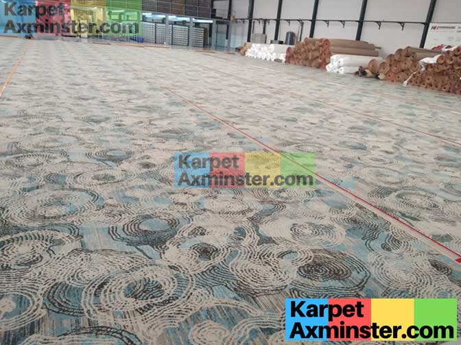 finishing pabrik karpet axminster hotel lampung golden dragon