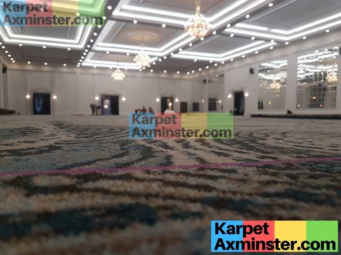 karpet ballroom axminster terbaik lampung golden dragon