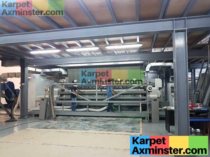 mesin karpet axminster produksi karpet lampung golden dragon