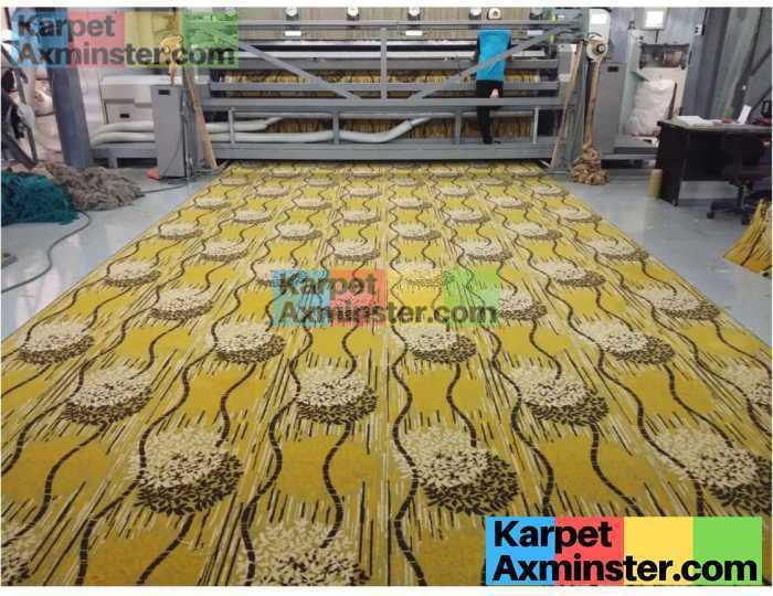 Produksi Karpet Axminster Ballroom Jakarta