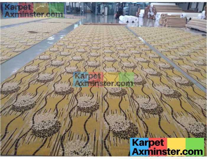 PAbrik Karpet proes finishing karpet ballroom golf club halim