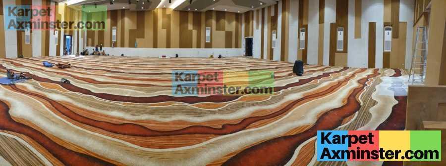 pasang karpet axminster hotel pekalongan nirwana